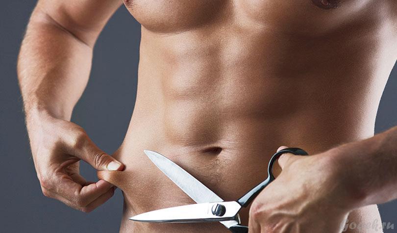 Как убрать живот и бока мужчине в домашних условиях